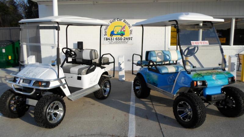 King of carts golf cart rentals sales service myrtle beach - Golf cart rentals garden city sc ...