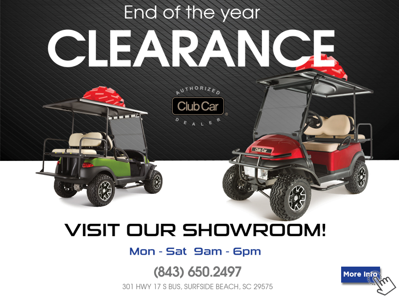 Golf Carts For Sale In Myrtle Beach Area