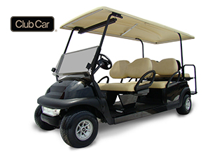 6 Seat Standard Golf Cart Rental